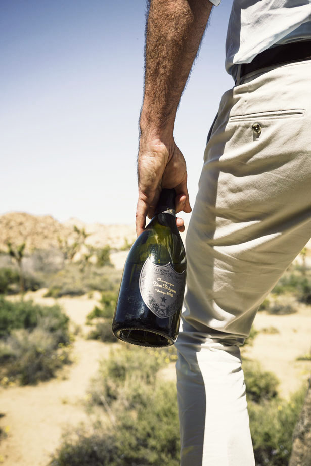 Dom Pérignon Vintage 1998 P2 launch in Joshua Tree and Palm Springs, California