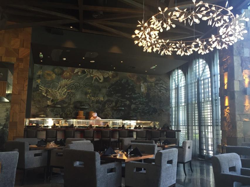 Katana Dubai interior