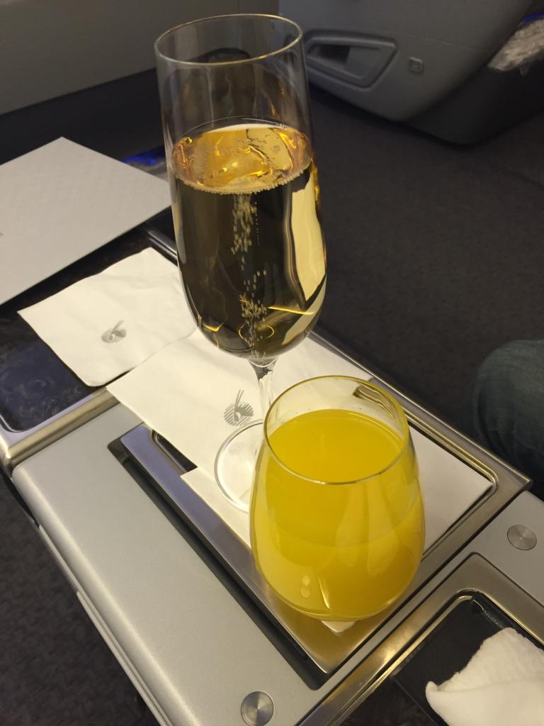 QR departure drink