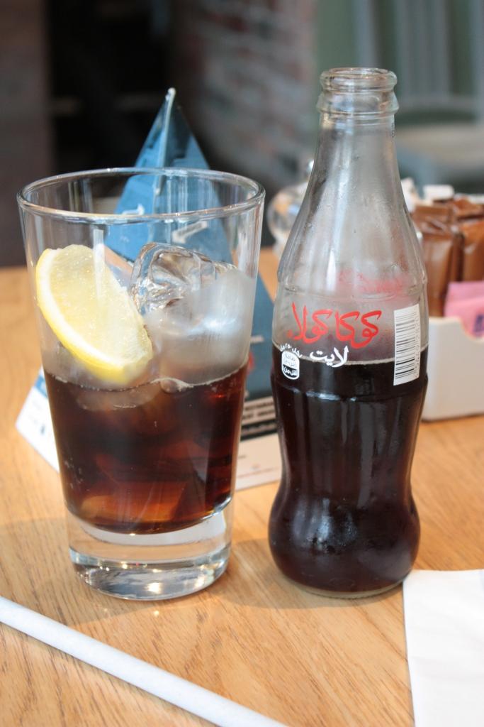 Diet coke arabic